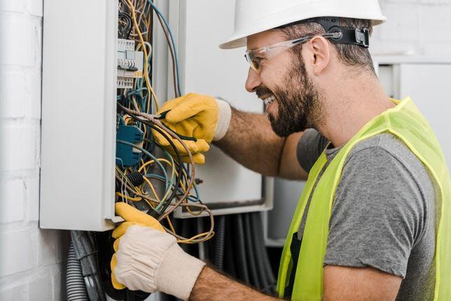 Elektryk - Usługi Elektryczne 24H - Instalacje - Naprawa - Montaż Agd