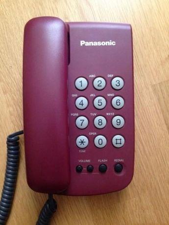 Телефон кнопочный стационарный Panasonic KX-TS5MX-R