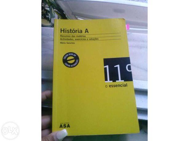 Livro História A 11º  Livro de Apoio