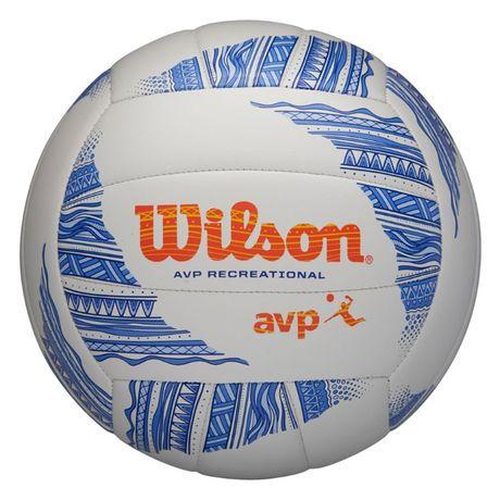 Piłka siatkowa Wilson Avp Modern Vb biało-niebieska WTH305201XB