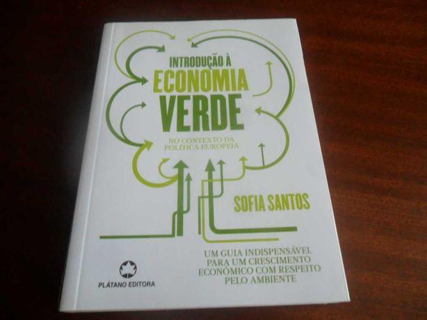 """""""Introdução à Economia Verde"""" de Sofia Santos - 1ª Edição de 2016"""