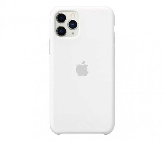 Silikonowe Etui IPhone 11 pro Białe