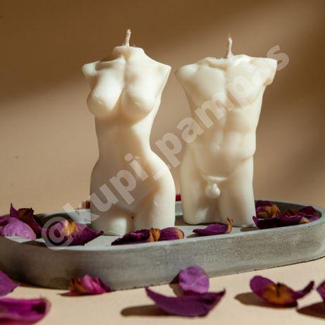 Соевые свечи Свча Женское тело Мужской торс Подарок Декор Украшение