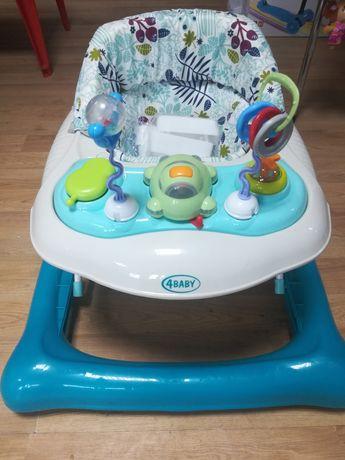 Nowy chodzik dla dzieci 4 Baby Steps,regulowana wysokość