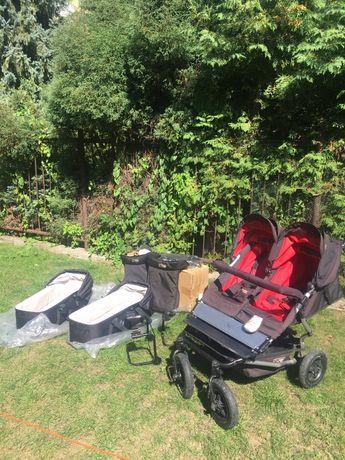 Wózek dla bliźniąt lub rok po roku Mountain Buggy Duet