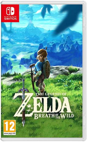 Legend of Zelda Breath Of The Wild (Switch)