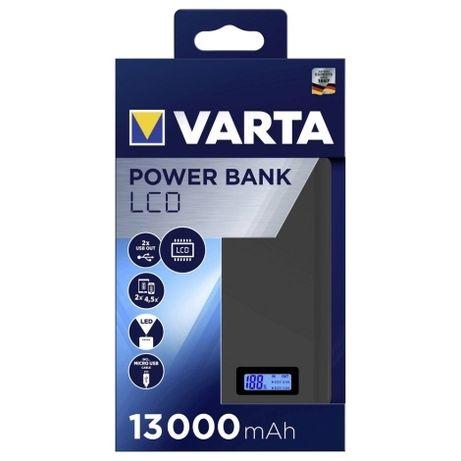 Power bank ładowarka VARTA 13000mAh 2xUSB LCD 5V