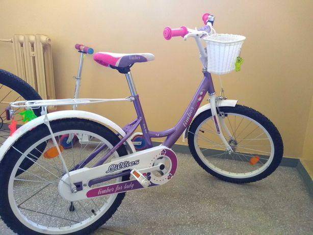 Rower dziecięcy, dla dziewczynki 18 cali