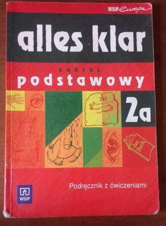 Alles klar 2a podręcznik z ćwiczeniami zakres podstawowy niemiecki