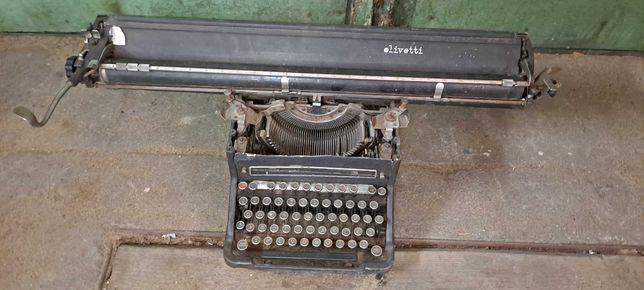 Olivetti maszyna do pisania duża antyk