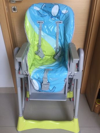 Krzeselko do karmienia Baby Design Pepe - stan idealny