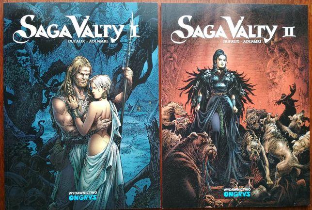 Saga Valty 1 i 2 tom - Jean Dufaux, Mohamed Aouam