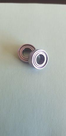 (2 uni) Rolamentos 5x10x4 Chrome Steel Abec3