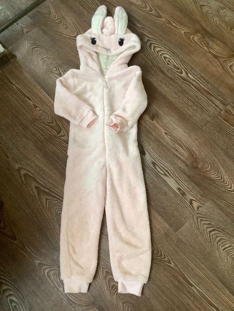 Слип кигуруми комбинезон пижама плюшевый H&M 104 см