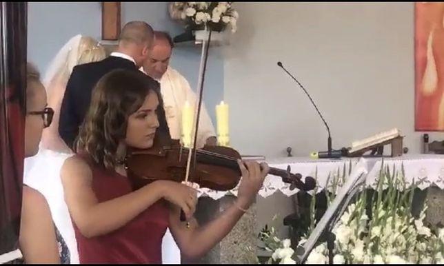 Oprawa muzyczna skrzypce i śpiew