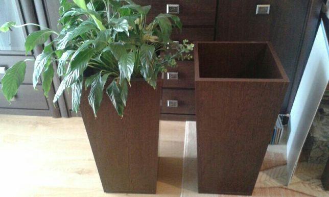 Donice drewniane wys.71 cm