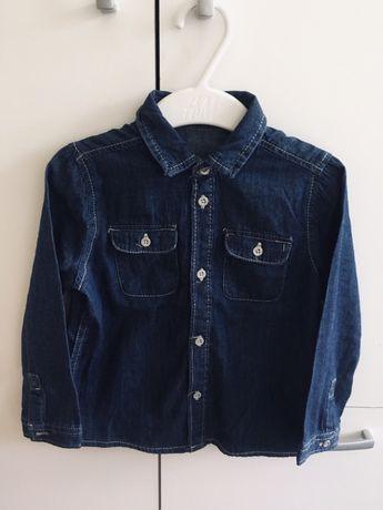 Koszula jeans rozmiar 92