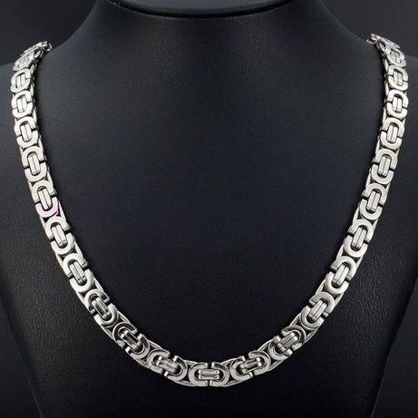 Łańcuszek męski,srebrny łańcuszek,złoty łańcuszek,316L,NOWY