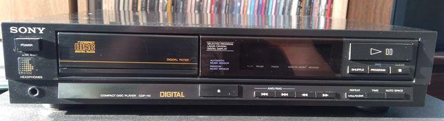 klasyczny odtwarzacz CD Sony CDP-110 sprawny