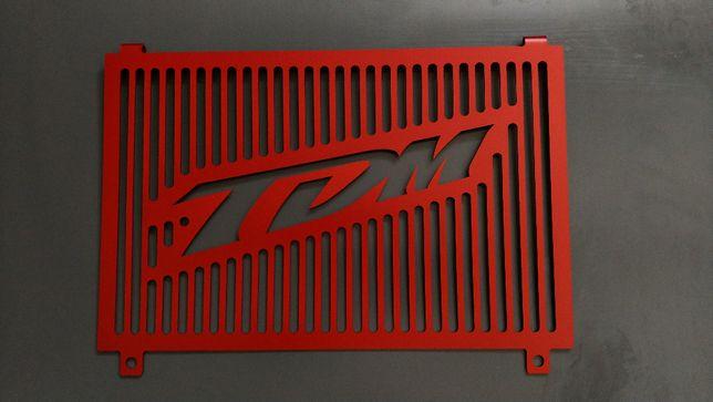 Osłona chłodnicy Yamaha TDM 850 czerwona 3vd 4tx