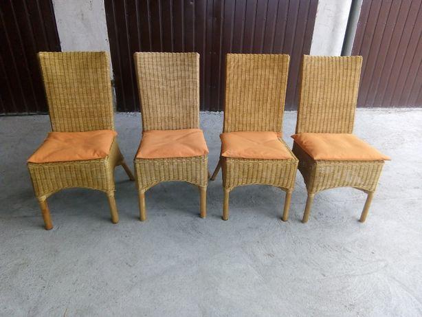 fotele rattanowe 4 sztuki / 601