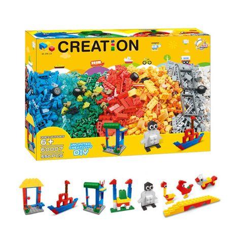 Конструктор аналог Лего, Lego Classic на 550 деталей (NO:60007)