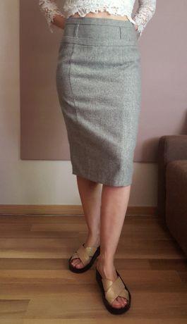 kobieca wełniana spódnica r.38 M