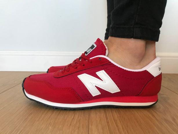 New Balance 410. Rozmiar 40. Czerwone - Białe. NOWOŚĆ!