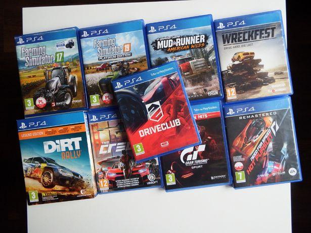 PS4 Driveclub PL SAMOCHODY Wyścigi MASZYNY ROLNICZE symulatory