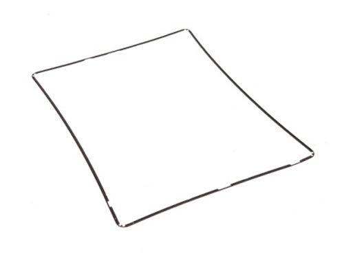 Рамка под тачскрин для iPad 2/3/4 - Белая, Черная