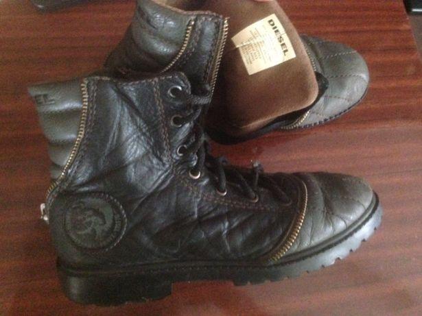 Ботинки Diesel 36 р. Стелька 23-23,5 см. Детская подростковая обувь.