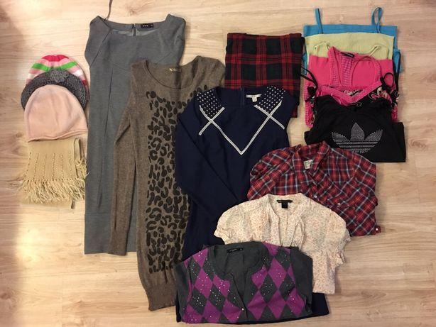 Paka ubrań , ubranko S-M. Wiosenne sukni, koszuli