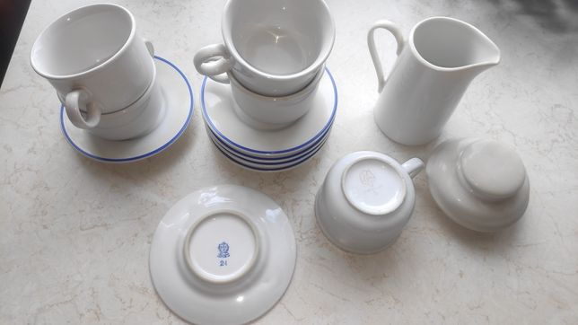 Zestaw porcelany PRL