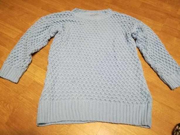 Sweterek niebieski