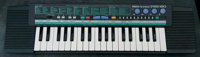 Keyboard Yamaha do nauki, japoński, z małą klawiaturą