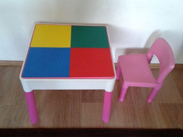 LEGO BABY Stolik dziecinny, skladany, wielofunkcyjny + 2 krzeselka