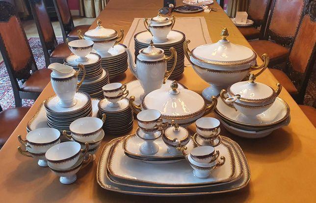 Serwis obiadowy + kawowy Epiag Royal 1920r  (118 el.)