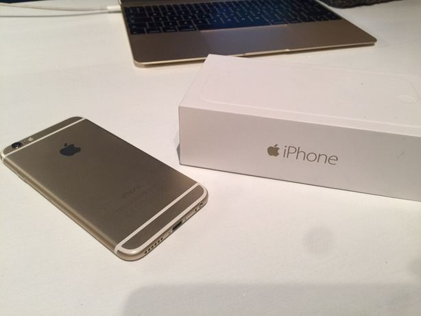 iPhone 6 ideolo 128GB, komplet, etui, iPod Nano do biegania
