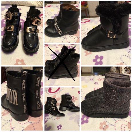 Ботинки,сапоги МНОГО Givenchy,zara,balenciaga оригинал