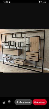 Лофт мебель , лавочки, все из металла в наличии и под заказ.