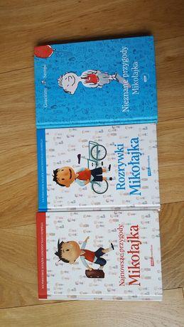Mikołajek zestaw 3 książek