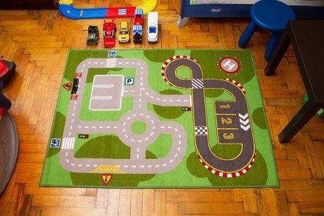 Детский игровой коврик ковер Lillаbo IKEA ИКЕА 100х133