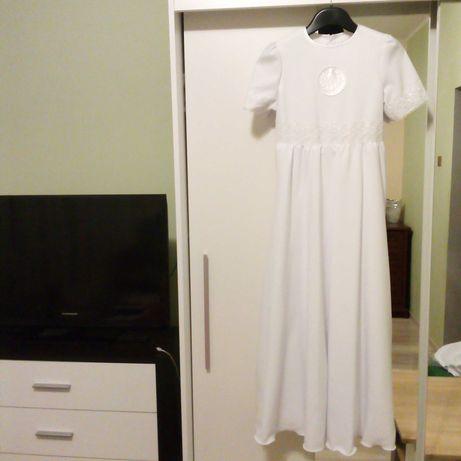 Sukienka komunijna z bolerkiem roz. 140