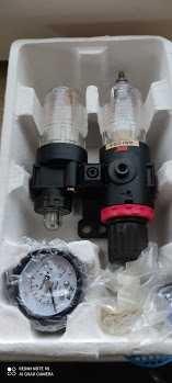 REDUKTOR ciśnienia filtr do kompresora odwadniacz