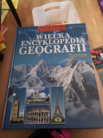 Książka dla dzieci nowa za pół ceny encyklopedia geografii