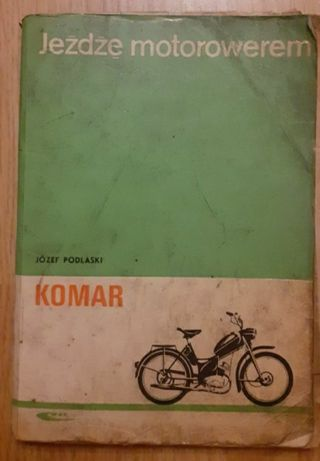 Książka Komar Jeżdżę motorowerem