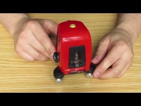 Лазерный уровень (нивелир) A8826D\AK435 + ЧОХОЛ + Батарейки