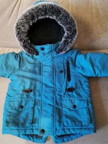 Зимняя куртка на 1.5-2 года Tu, Великобритания