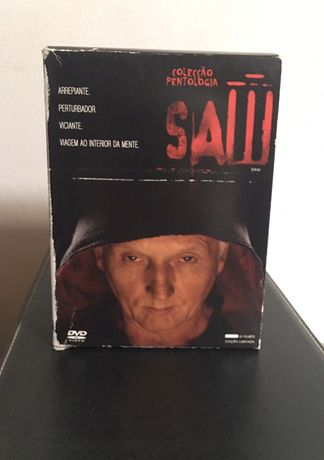 Colecção Pentologia SAW ( filmes)