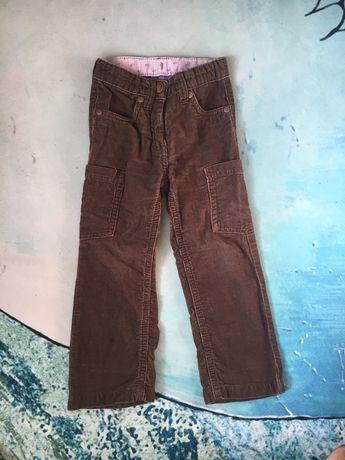 Штаны, брюки вельветовые Lupilu 86-92 см